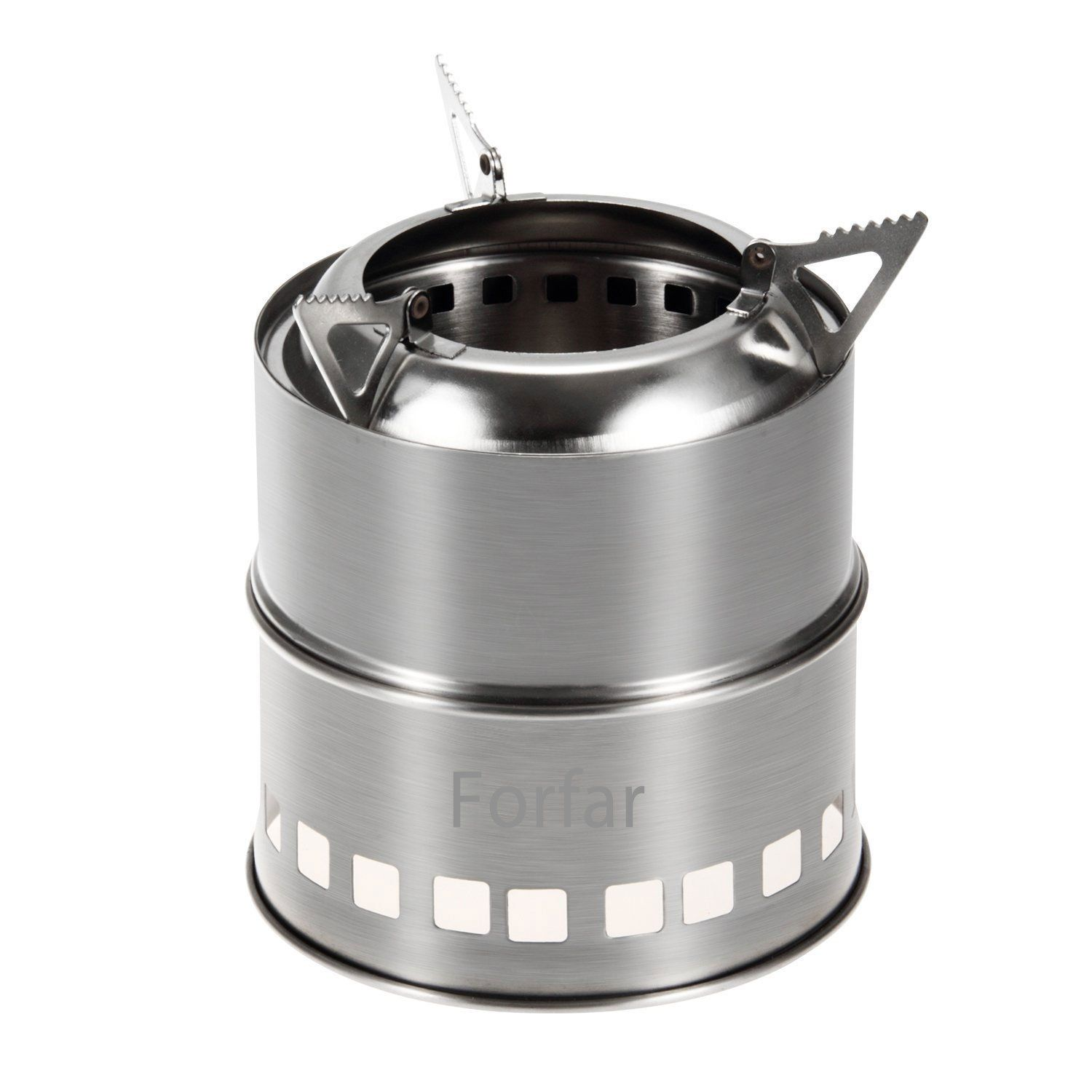 Forfar Camping Stove Portable Stainless Steel Lightweight