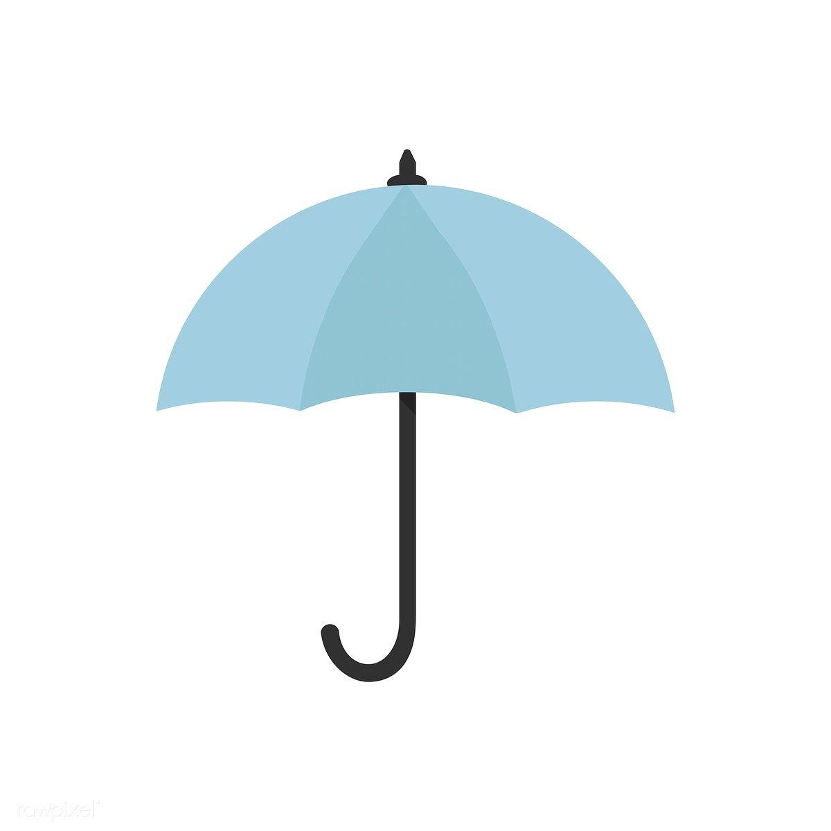 Blue Umbrella Icon Isolated Graphic Illustration Free Image By Rawpixel Com Umbrella Illustration Graphic Illustration Blue Umbrella