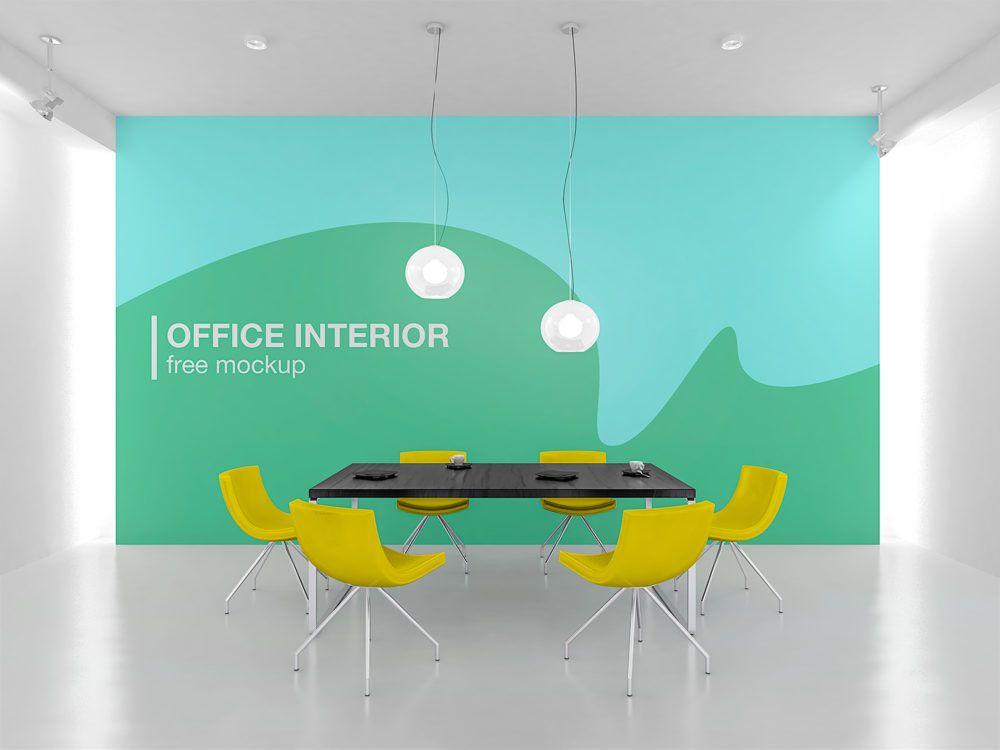 Office Interior Branding Mockup Free Mockup Branding Mockups Free Office Interiors Branding Mockups