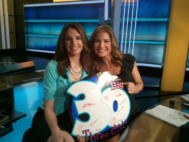 maria larosa and jen carfagno celebrates  30yearsoftwc