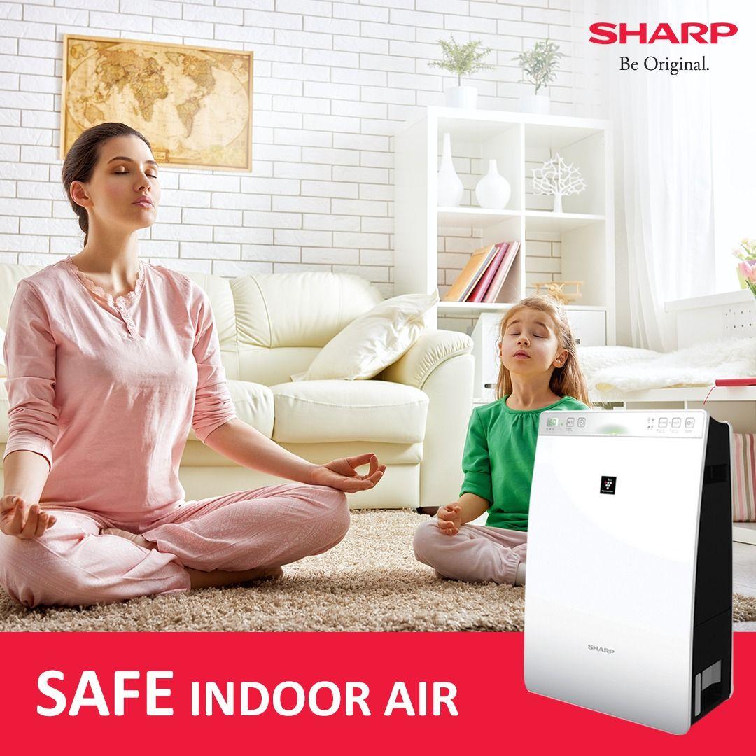 sharpairpurifierTrueHEPA HEPAAirPurifiers AirCleaner