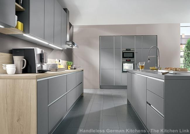 Matt Grey Kitchen Doors Google Search Kitchen Design Pinterest - Matt grey kitchen doors
