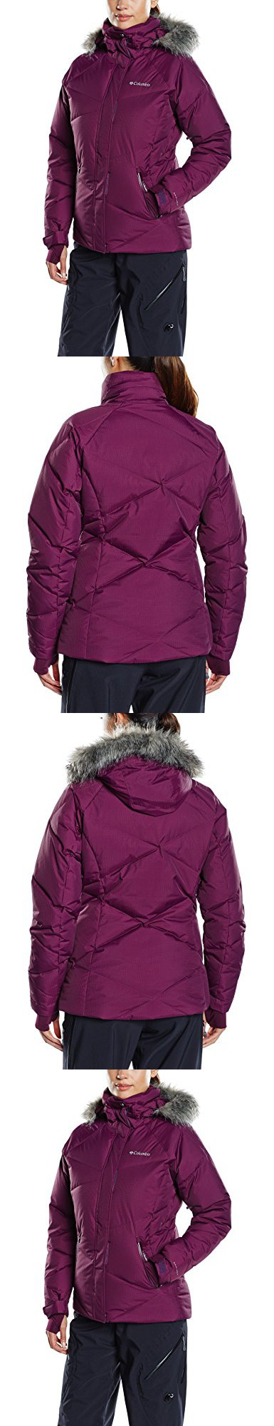 8ceb4cc4d Columbia Women's Lay D Down Jacket, Purple Dahlia Dobby, Medium ...