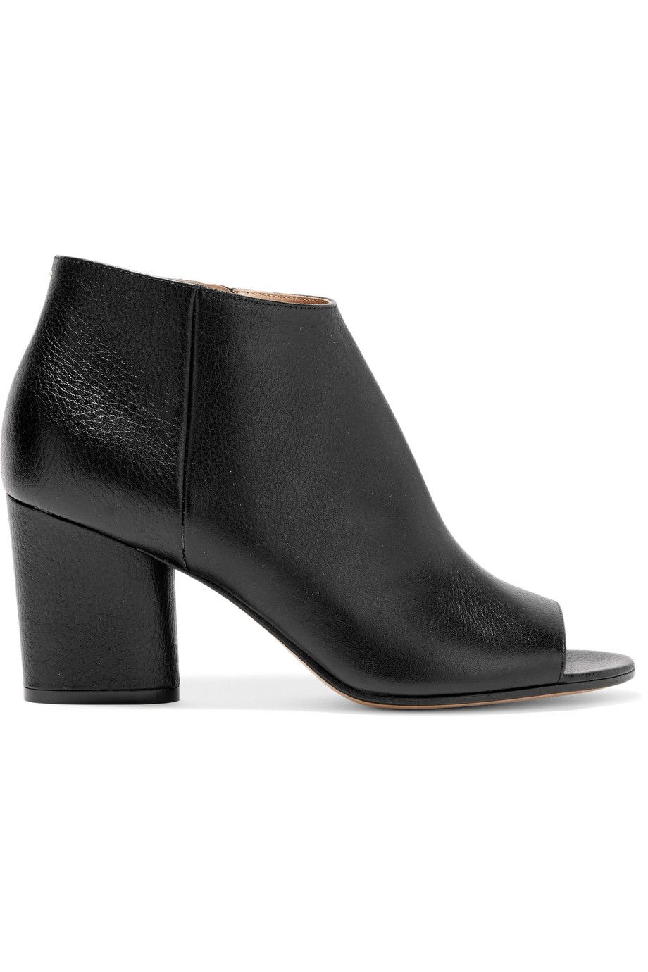 cheap sale websites outlet best seller Maison Margiela Textured Leather Ankle Boots clearance best sale discount best store to get cheap best store to get dXwcADL5