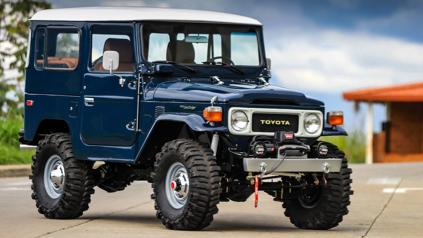 1983 Toyota Fj 40 Land Cruiser Presented As Lot S245 At Harrisburg Pa Land Cruiser Fj40 Landcruiser Toyota Fj40