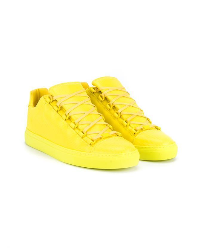 ff3f1c8f0398 BALENCIAGA Arena Leather Sneakers.  balenciaga  shoes  sneakers ...