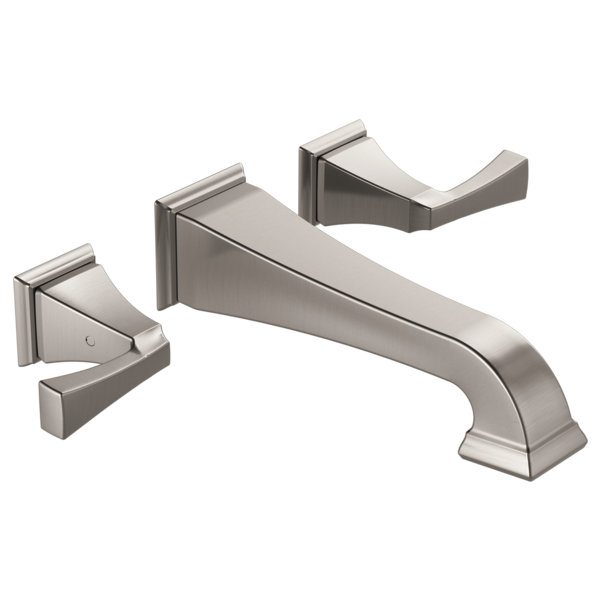 Powder Bathroom Brushed Nickel Finish Delta Faucet T3551lf Sswl