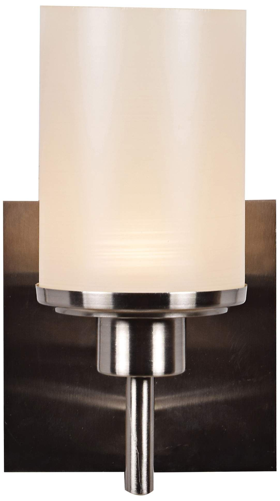 Sconces Perch 9 1 4 High Brushed Steel Led Wall Sconce Led Wall Sconce Sconces Glass Shades