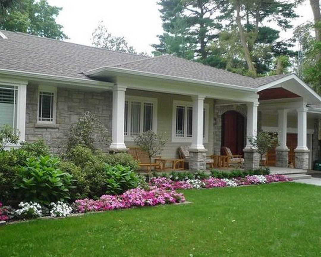 20 Great Front Porch Addition Ranch Remodeling Ideas