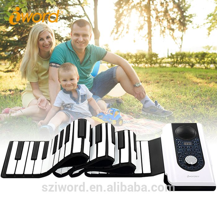 Silicone Keyboard Roll Up Electronic Piano With 88 Keyboards