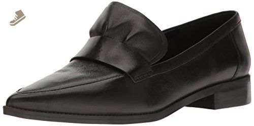 Nine West Women's Strong Leather Pointed Toe Flat, Black, 9.5 M US - Nine west flats for women (*Amazon Partner-Link)