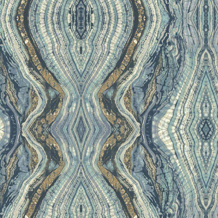 Kashmir Kaleidoscope Abstract Wallpaper Reviews Allmodern York Wallpaper Stone Wallpaper Abstract Wallpaper