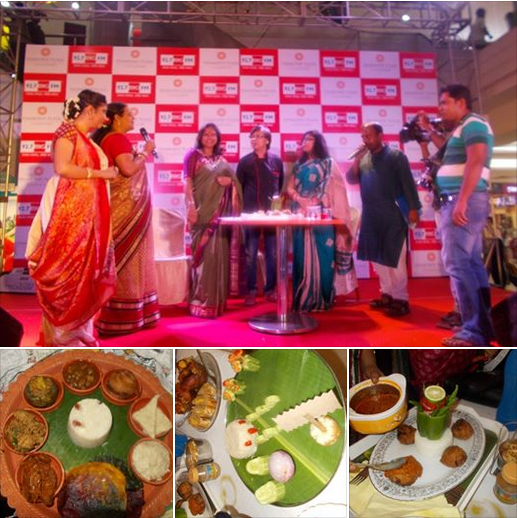 "The Grand Finale of cooking competition ""Radhuni Parodorshini"" held on 15th April 2015."