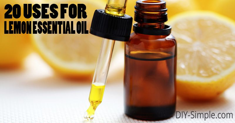 I love my lemon essential oil! Take a look at these 20 different uses for it!