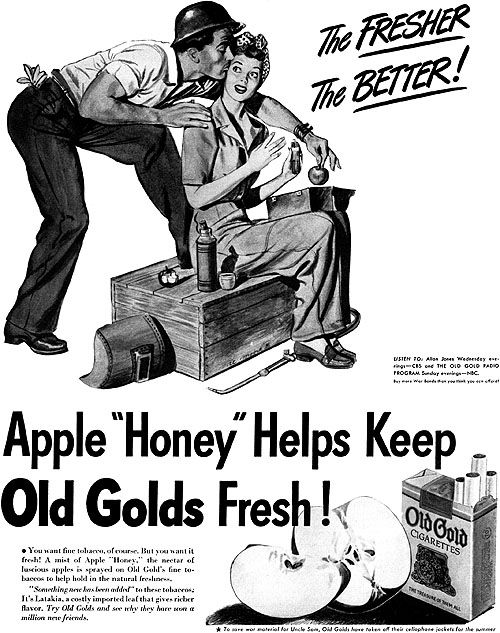 old gold   u0026quot the fresher the better u0026quot   1944  moore  al