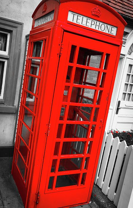 London Red Phone Booth Wall Art For Your Living Room Loft Apartment Or Bedroom Modern Home Decor Backed By 30 Day Money Back Guarantee