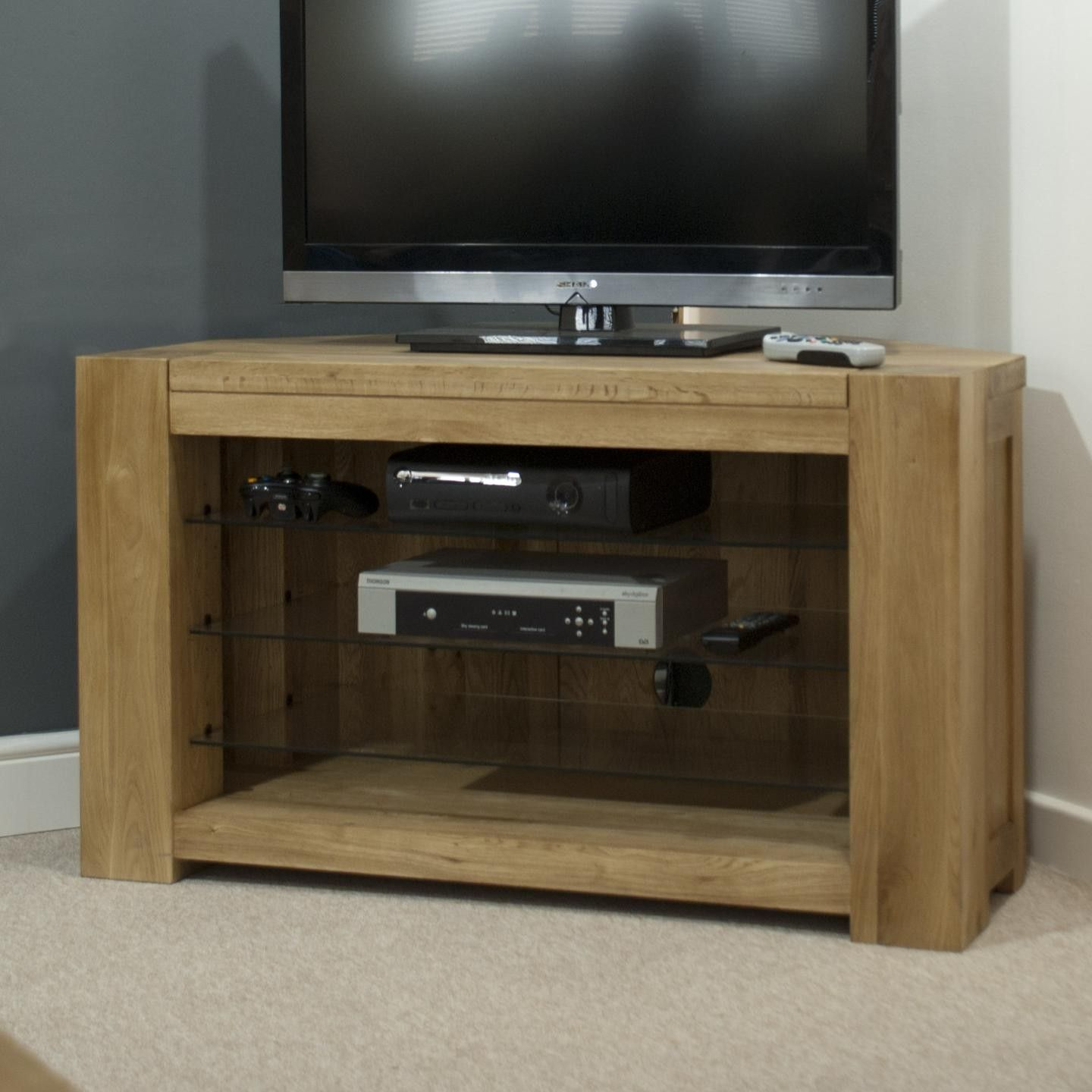 Rhino Oak Corner Tv Unit Willoby S Tv Units Pinterest Tv  # Meuble Tv Jimi