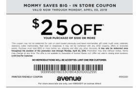 50 Off Avenue Coupon Code Free Shipping March 2020 Printable Coupons Coupons Restaurant Coupons Printable Coupons