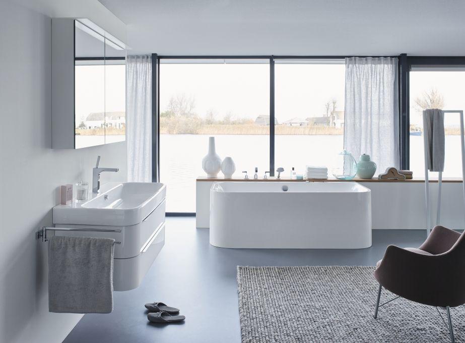 Duravit - Bathroom design series: Happy D. - washbasins, toilets ...
