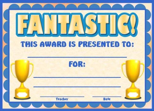 achievement award certificates classroom ideas pinterest