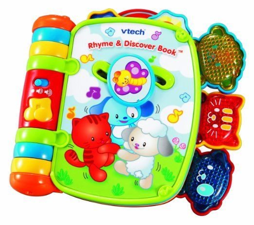 VTech - Rhyme and Discover Book Toys  Games THE