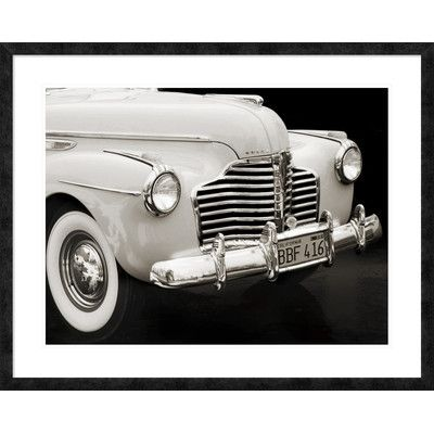 Global Gallery '1947 Buick Roadmaster Convertible' by Gasoline Images Framed Photographic Print Size:
