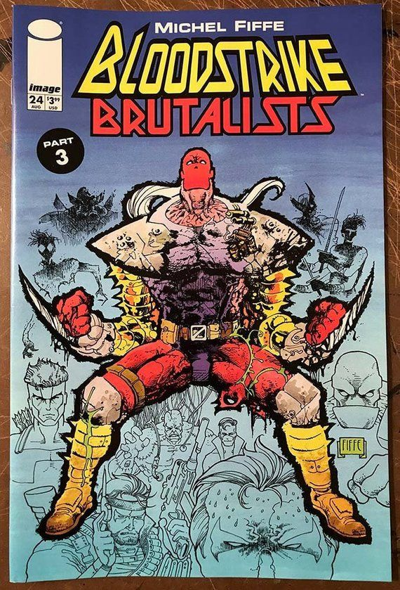 Bloodstrike: Brutalists 3 • Signed Issue 24 in 2019 | Products