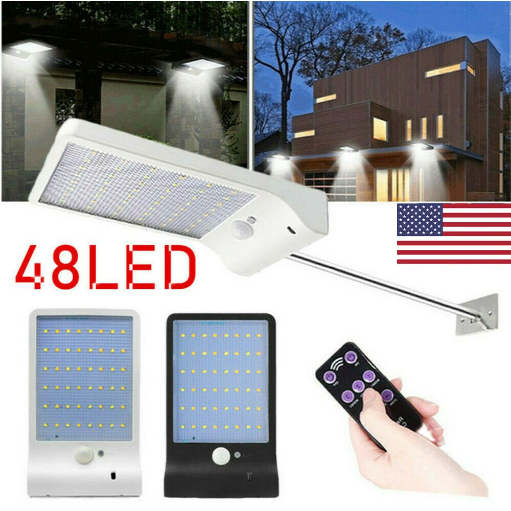 36 48led Solar Pir Motion Sensor