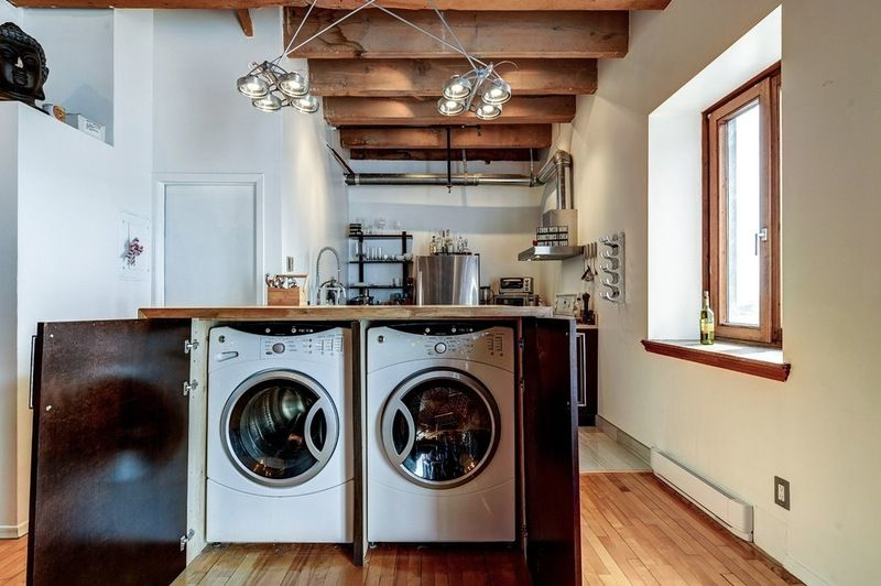 Think Outside The Box To Find Space Like Stowing A Washer And