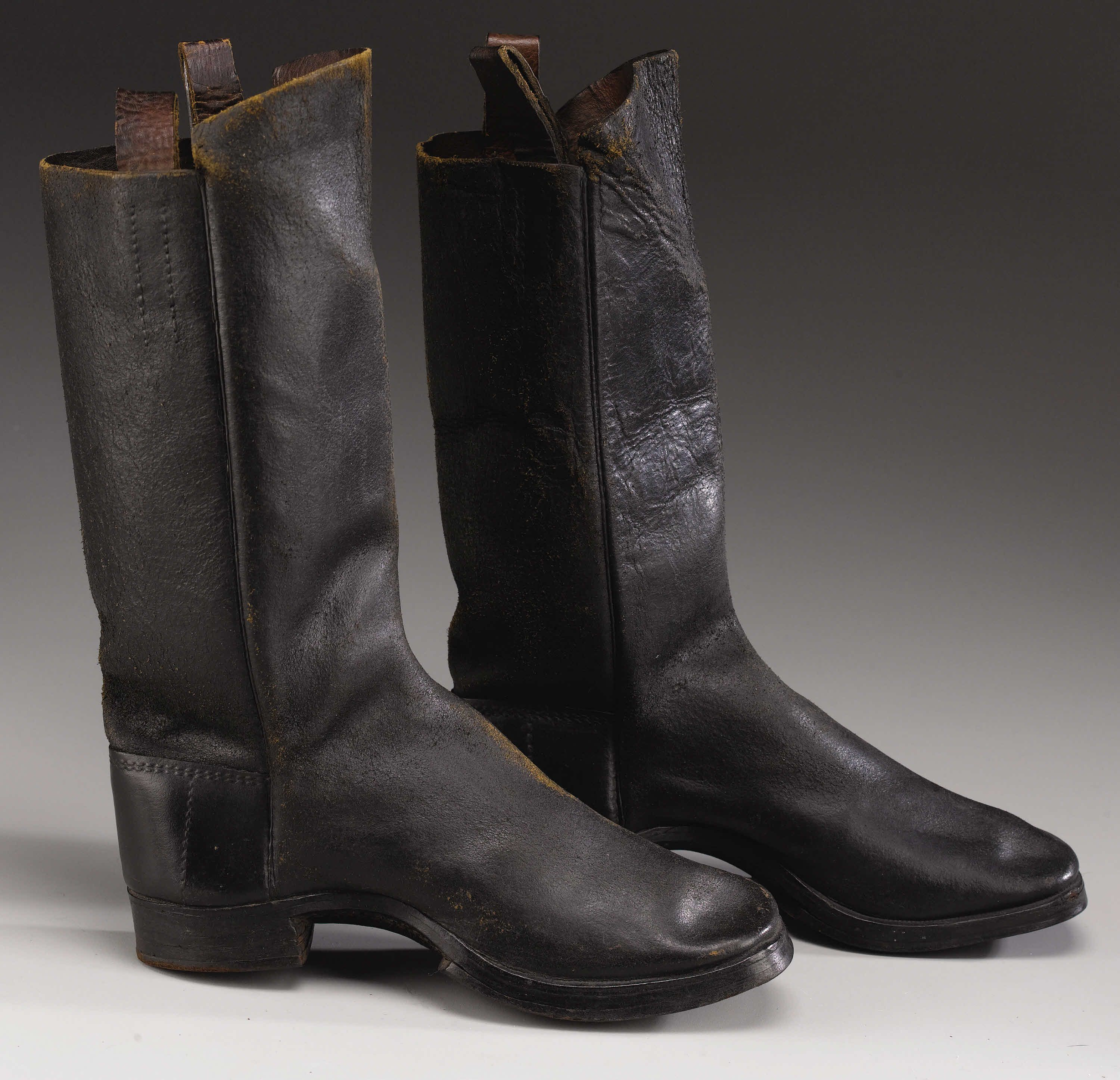 Civil War Leather Boots. One of the many variations in the ...