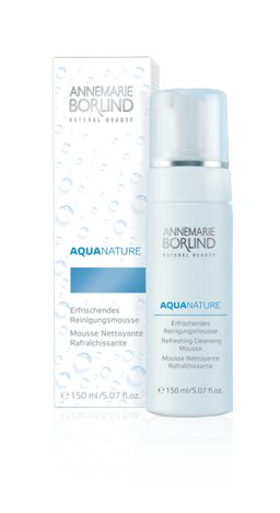 Hydrated skin is essential to keeping wrinkles away & maintaining elasticity.  Annemarie Borlind, a dermatologically tested brand  created a system that addresses this concern in its AQUANATURE line.  The  line includes a cleanser (gently removes sebum & makeup), and moisturizing serum (contains aloe vera, algae extract, and botanical hyaluronic acid) to moisturize dry skin and promote an even complexion.