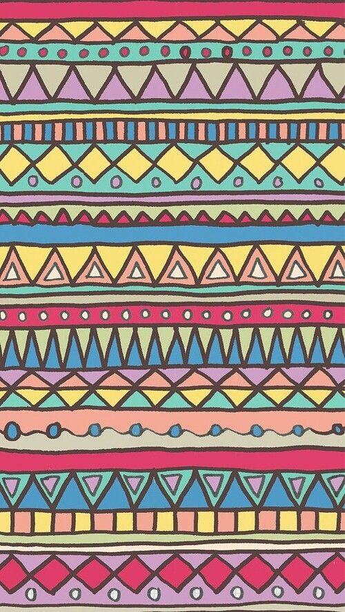 Fullcolor Aztec Wallpaper Tribal Wallpaper Tribal Patterns