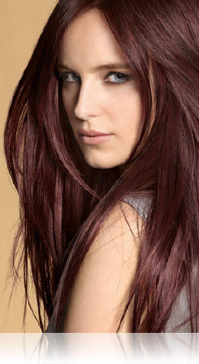 Dark Red Hair4r Radiant Red Dark Brown Precision Foam Permanent