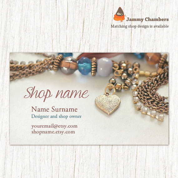Business Card Template Business Cards Jewelry Business Cards - Custom business card template