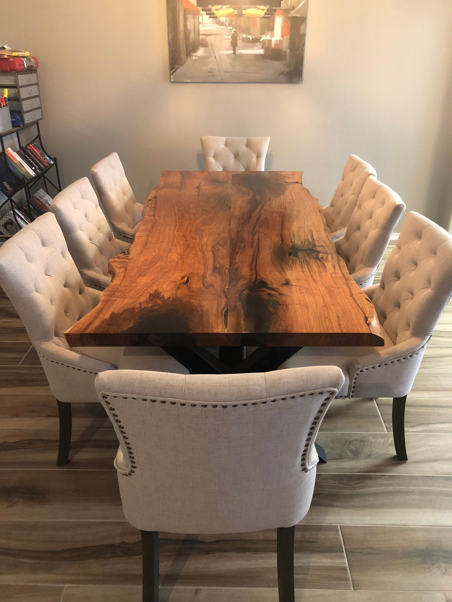 I Love The Look Of This Custom Dining Table And I Would Love To