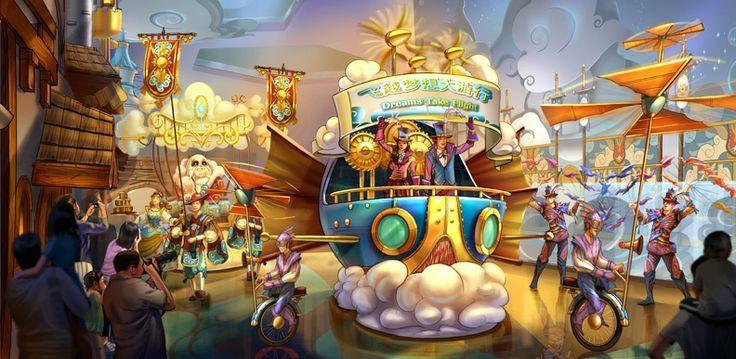 theme park rendering - Google Search