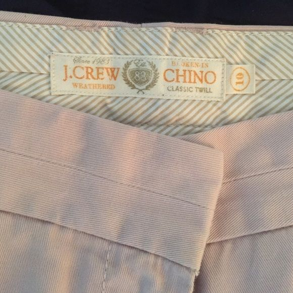 J.Crew Chino Shorts, Dusty Rose Color Chino short from J.Crew in a very pale rose color, size 10 and in great condition! J. Crew Shorts