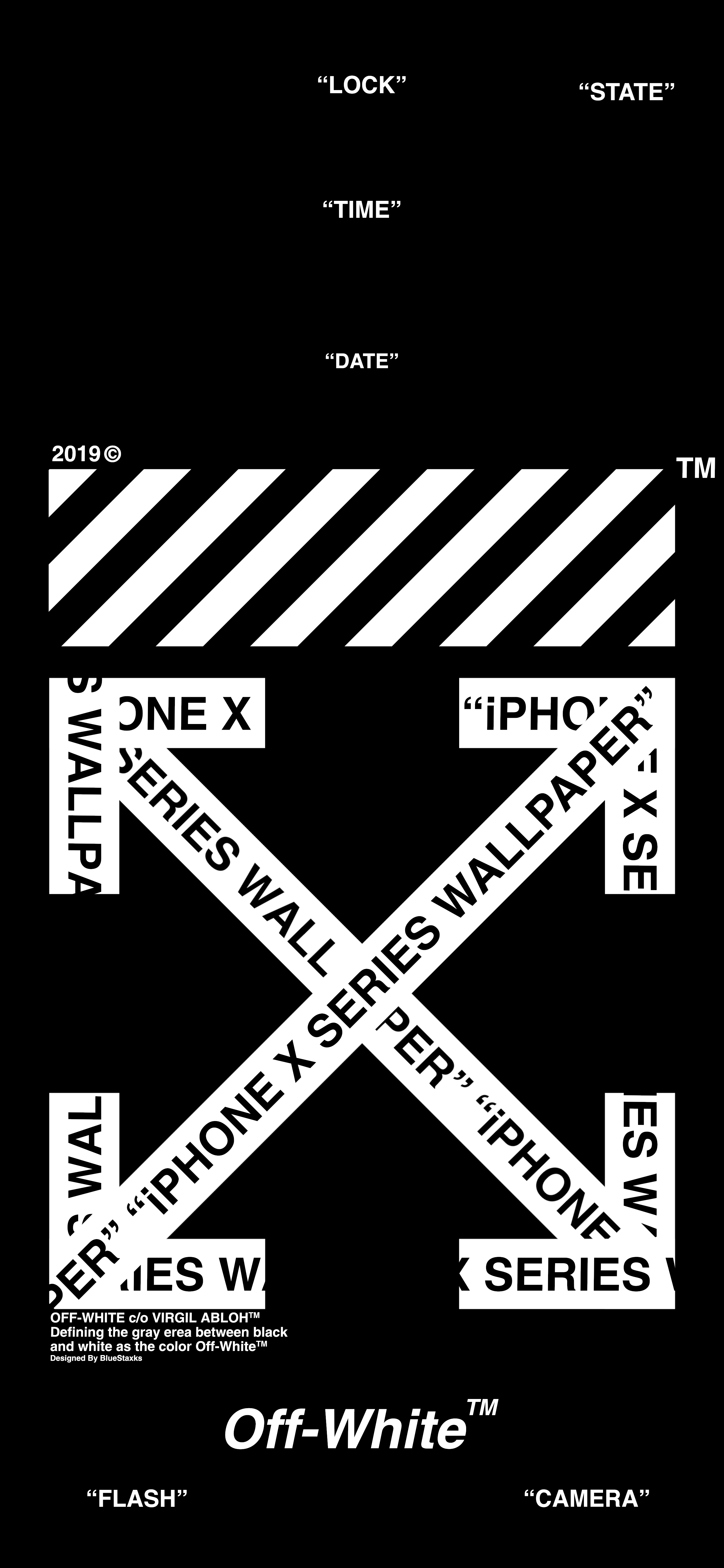 Off White Iphone X Series Wallpaper Ios 13 Wallpaper Dark Mode Tapety Tapeta Tla