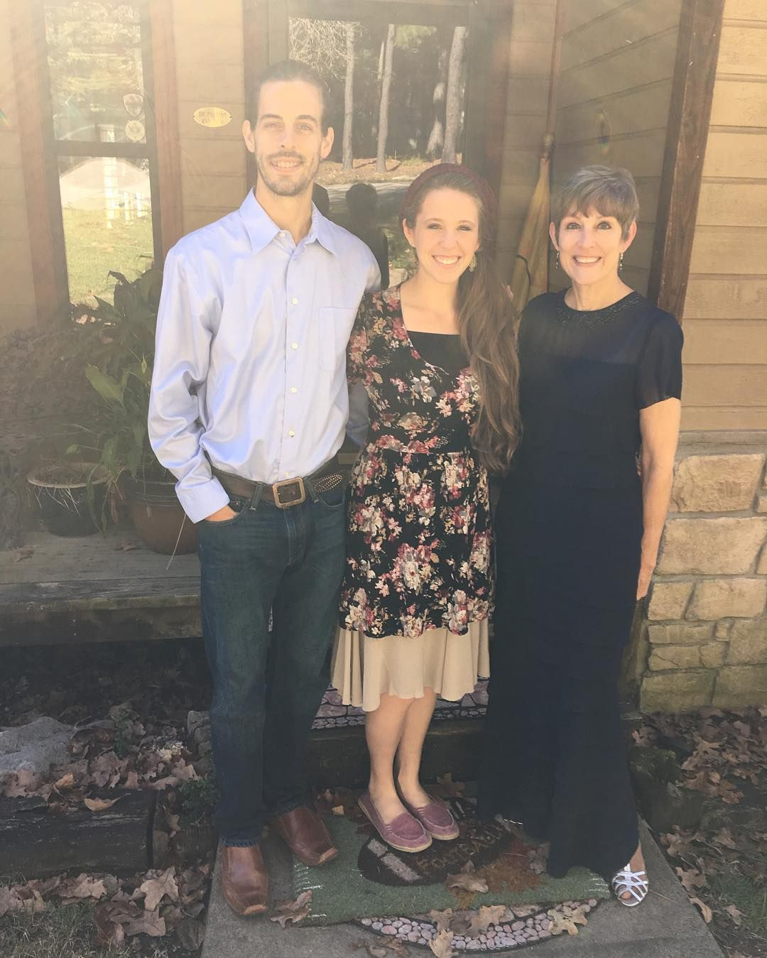Jill duggar wedding dress  We are praising God today to be able to celebrate  years with mom