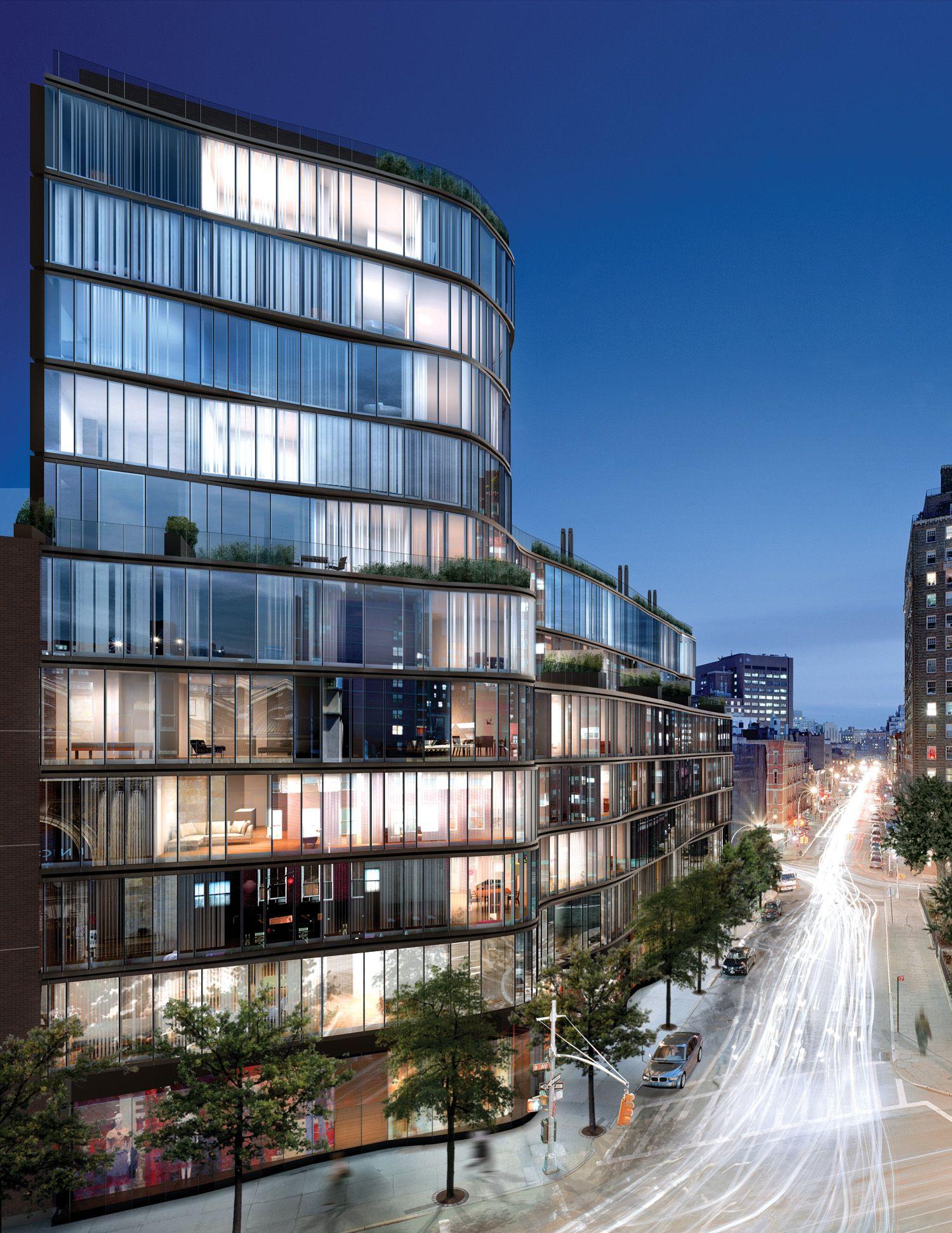 Modern Architecture New York City one jackson square | 122 greenwich avenue | 2010 | kohn pedersen