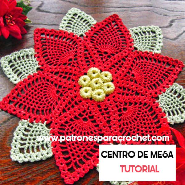 Tapete crochet paso a paso en video y patrones con esquemas   mas ...