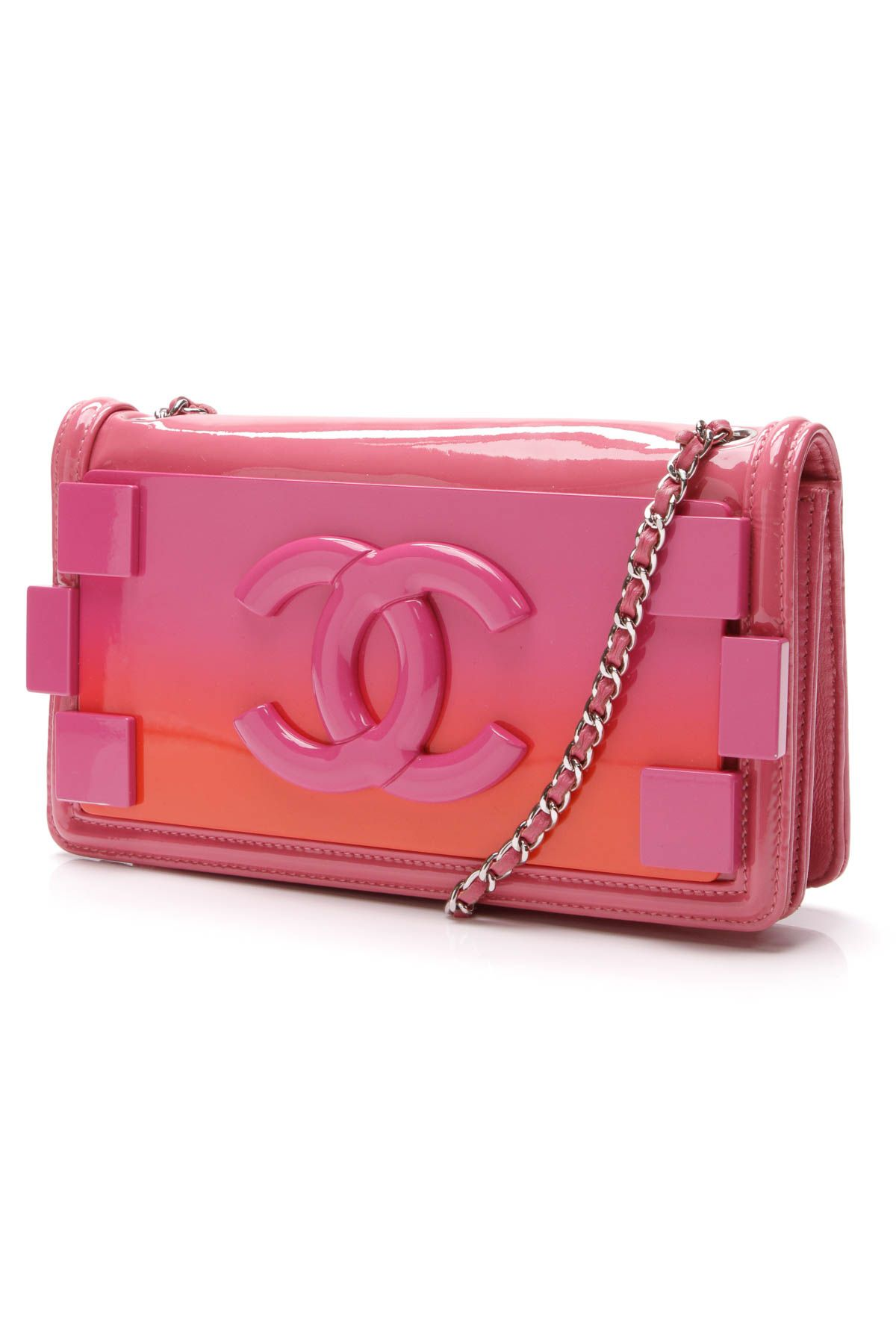 e96db6165bd86c Boy Brick Crossbody Bag - Plexiglass & Patent Leather in 2019 ...