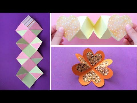 How To 3 Make Squash Cards In The Same Way Exploding Card Youtube K Crafts Unique Gifts For Sister Hobbies That Make Money