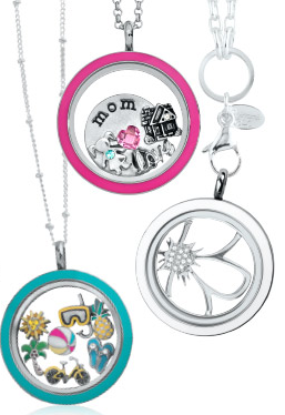 All sorts of colors are available! New interchangeable Locket Faces.