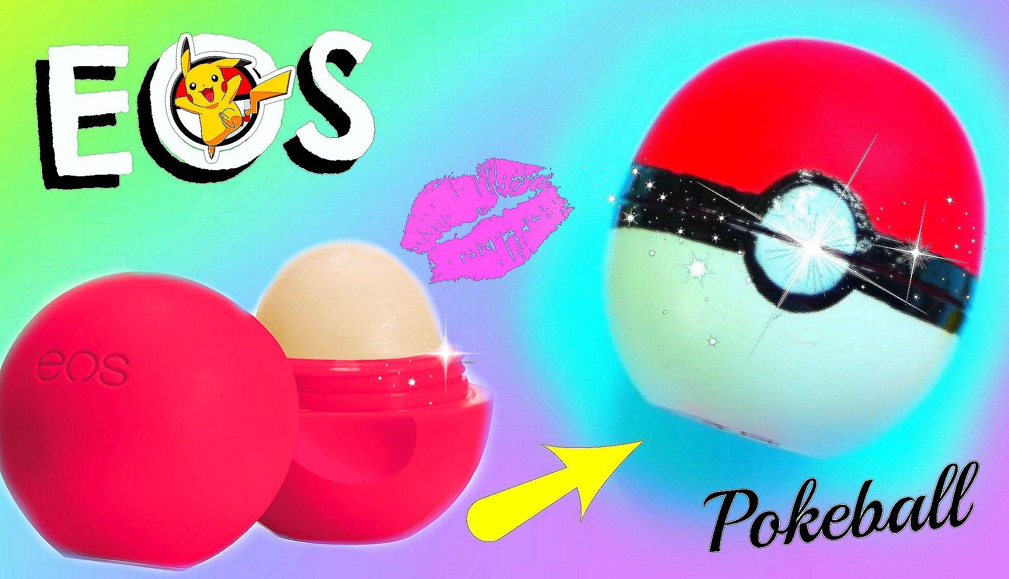 diy pokeball eos i back to school pokèmon go lipgloss selber machen