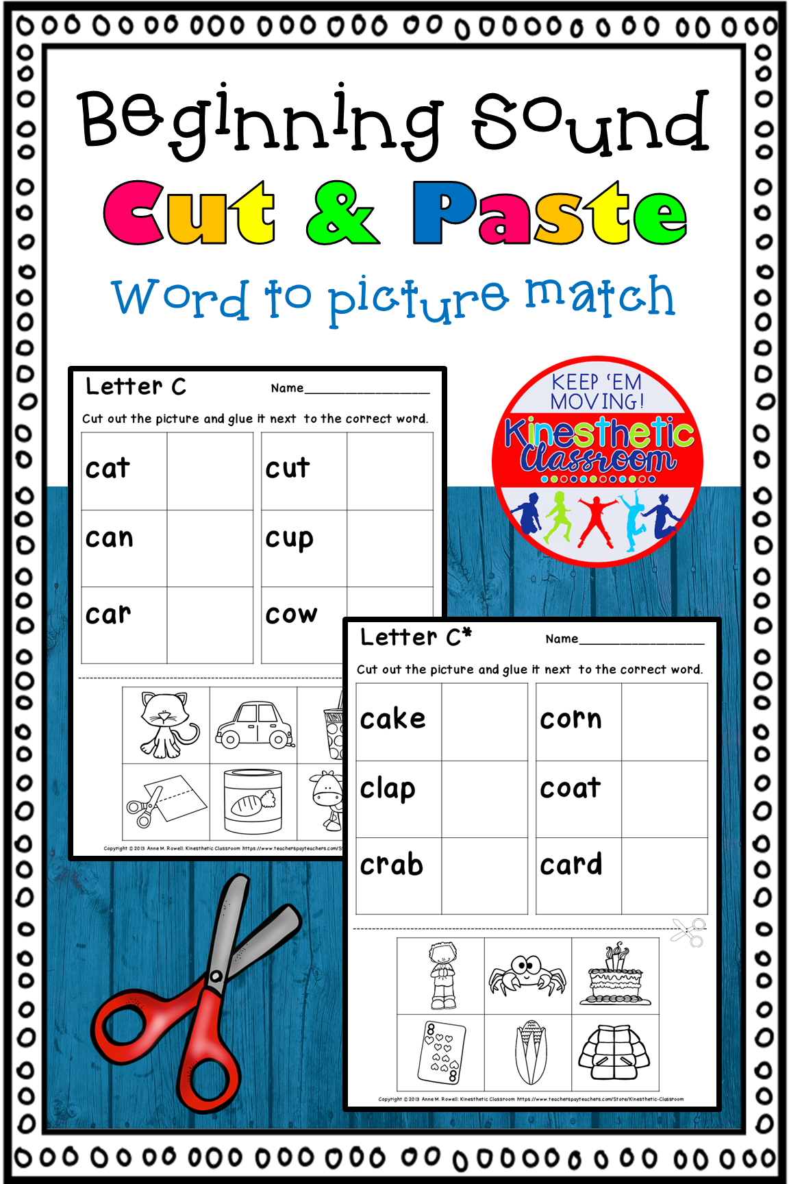 Pin On Tpt Resources Kinesthetic Classroom