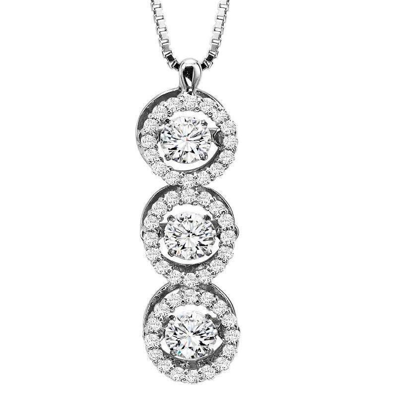 14k rhythm of love 100cttw triple halo diamond necklace halo 14k rhythm of love 100cttw triple halo diamond necklace aloadofball Choice Image
