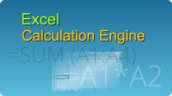 Calculate Excel formulas by defining formulas with functions