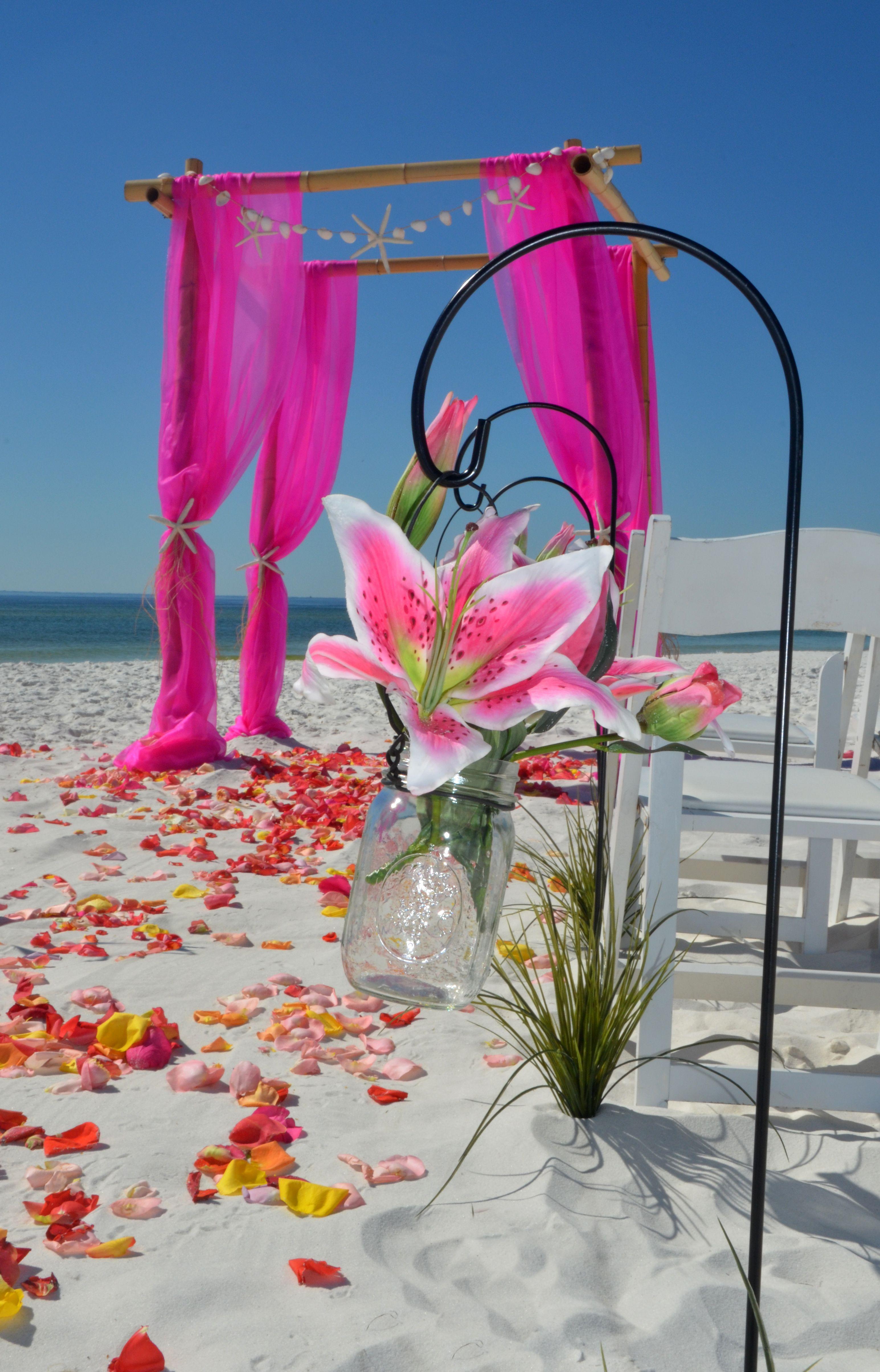 Affordable destination Florida beach wedding package