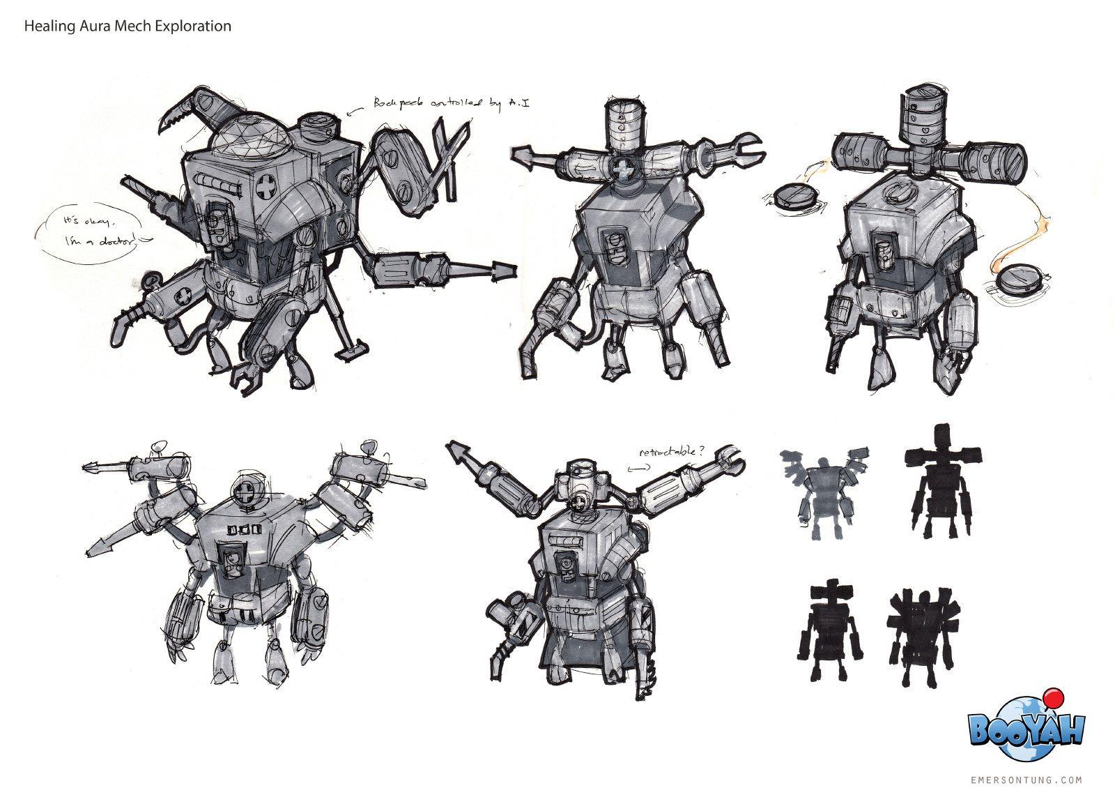 ArtStation Turn Based Strategy Robot Game (2011